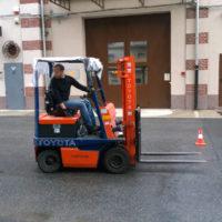 Anno 2019: corso formazione carrelli elevatori