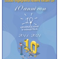 Studio Milani 10 anni generazione d'industria